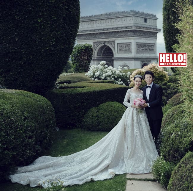 Lang Lang finds his natural home in Hello magazine