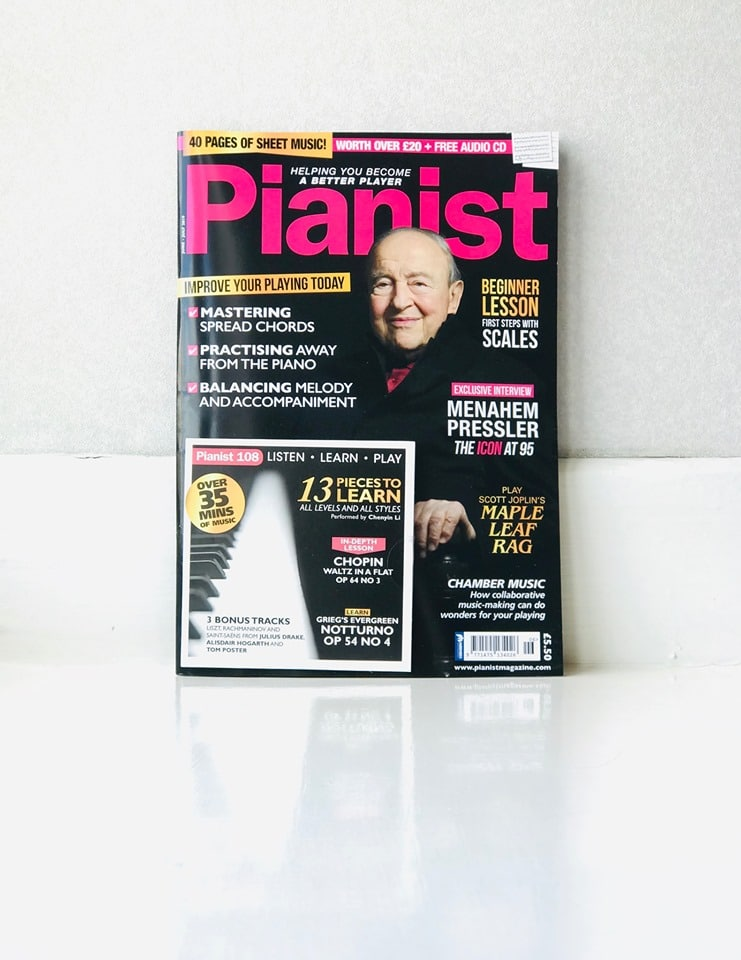A cover boy at 95