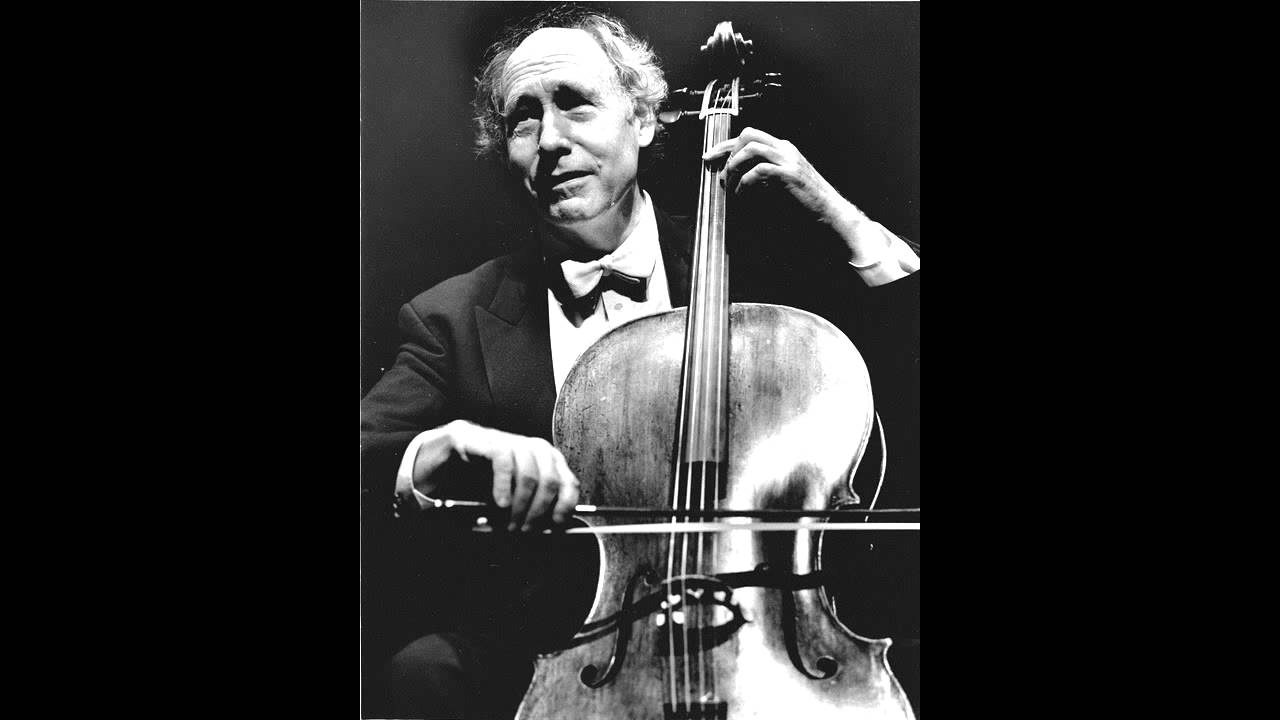 Sadness: A great cellist has died