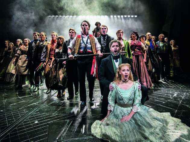 Man retires after 34 years of Les Miserables