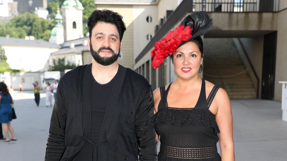 Netrebko's husband is booed over her absence