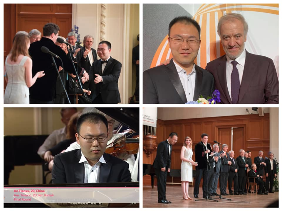 What happened to Chinese pianist after the Tchaikovsky disaster