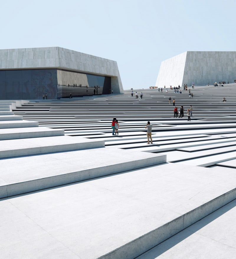 Norway has designs for Shanghai's grand opera house
