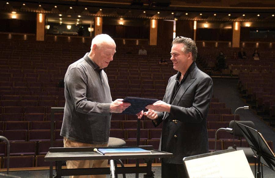 Vienna gives late honour to Bernard Haitink