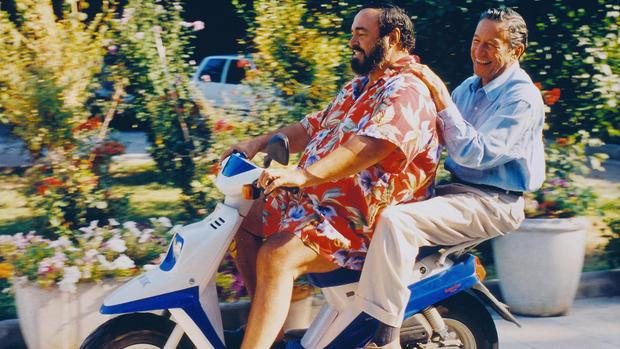Pavarotti's weight-loss programme