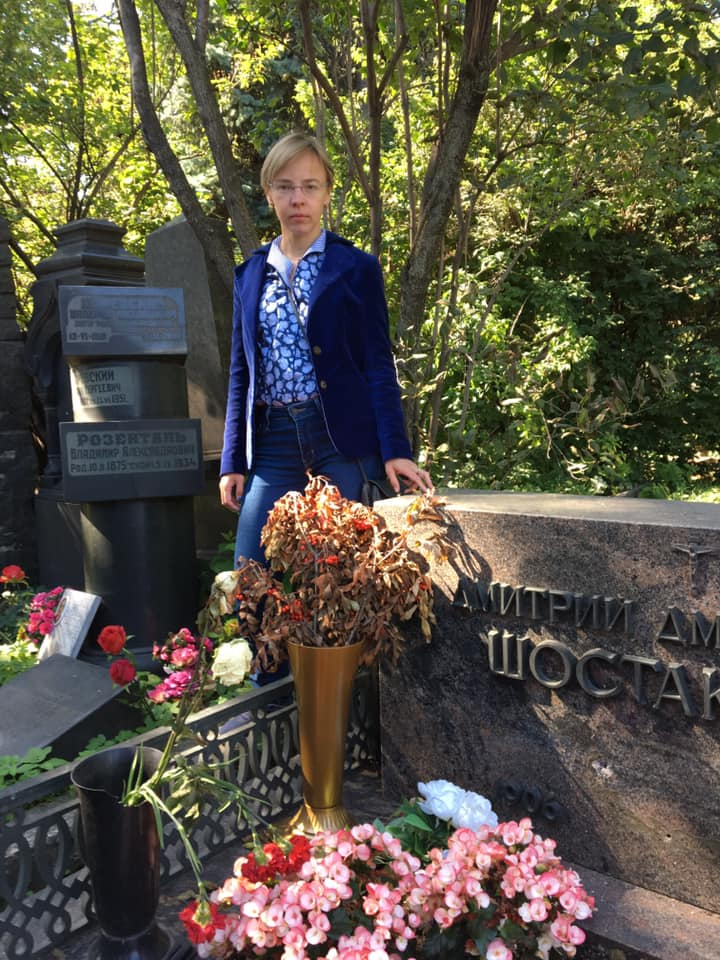 Shostakovich grave is vandalised