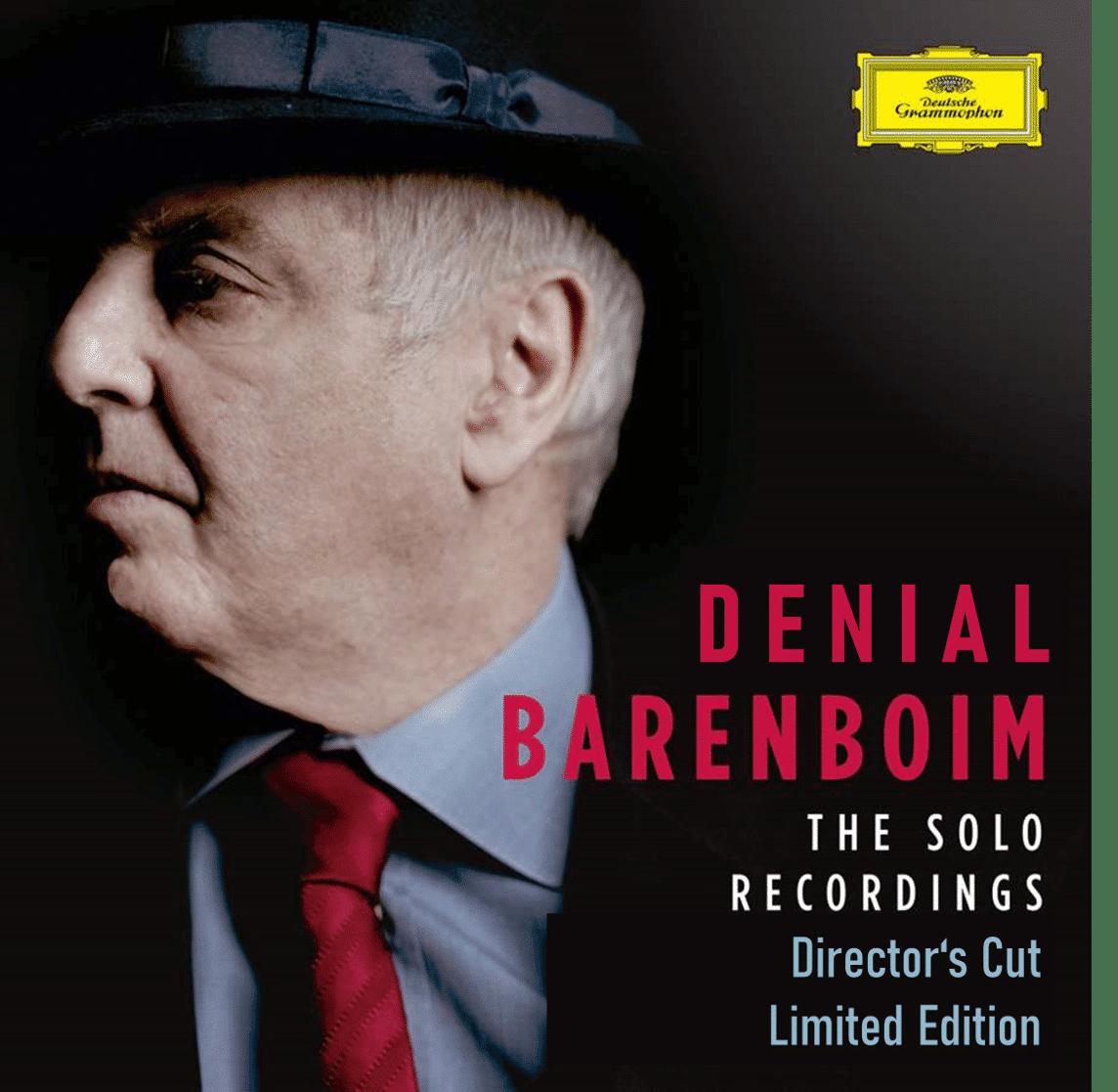 Daniel Barenboim 'needs to wear a body-com at work'