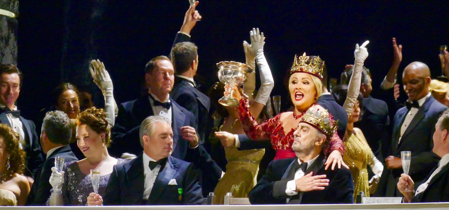 Exclusive: Last shot of Placido Domingo at the Met