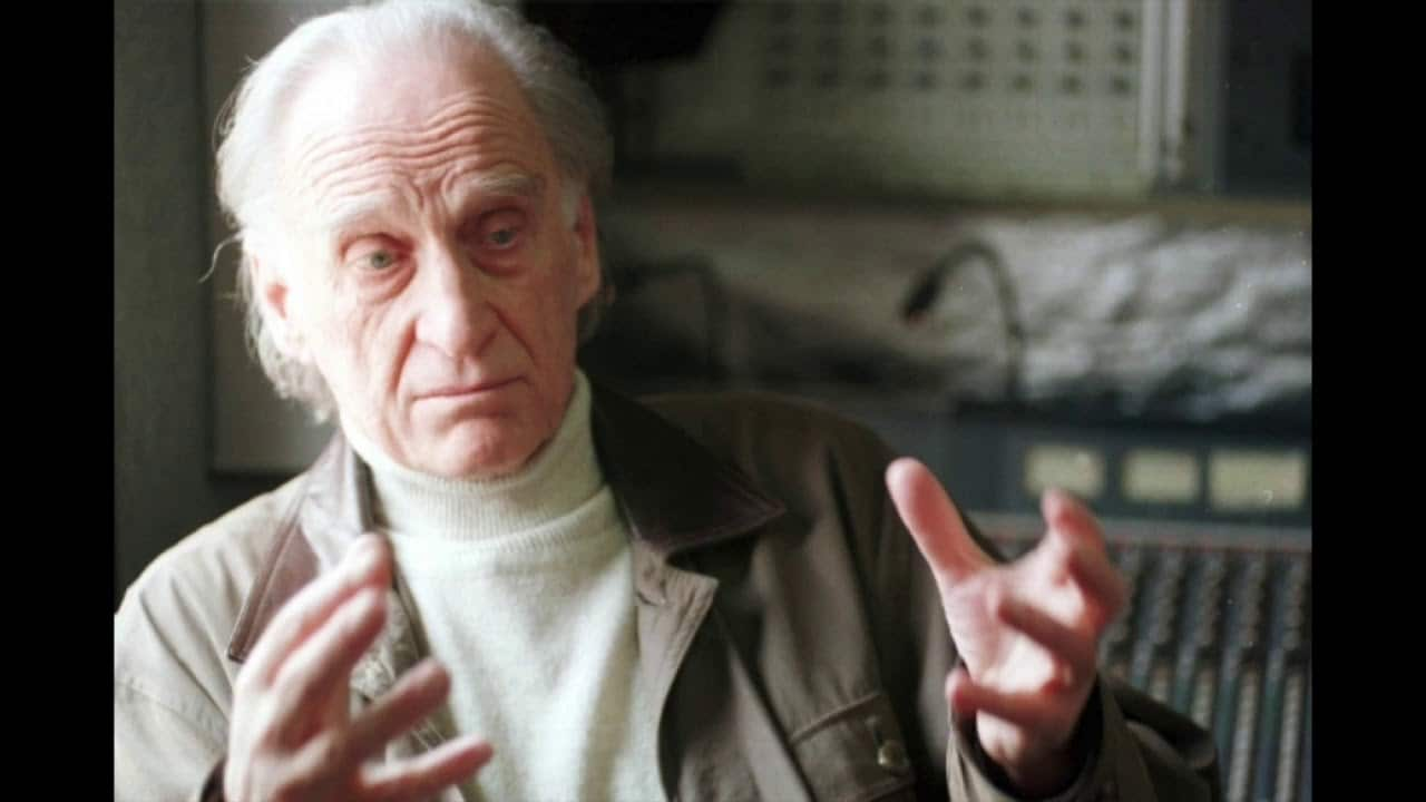 Death of an adventurous French composer, 94