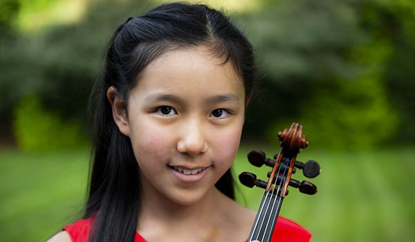 London agency signs 12 year-old violinist