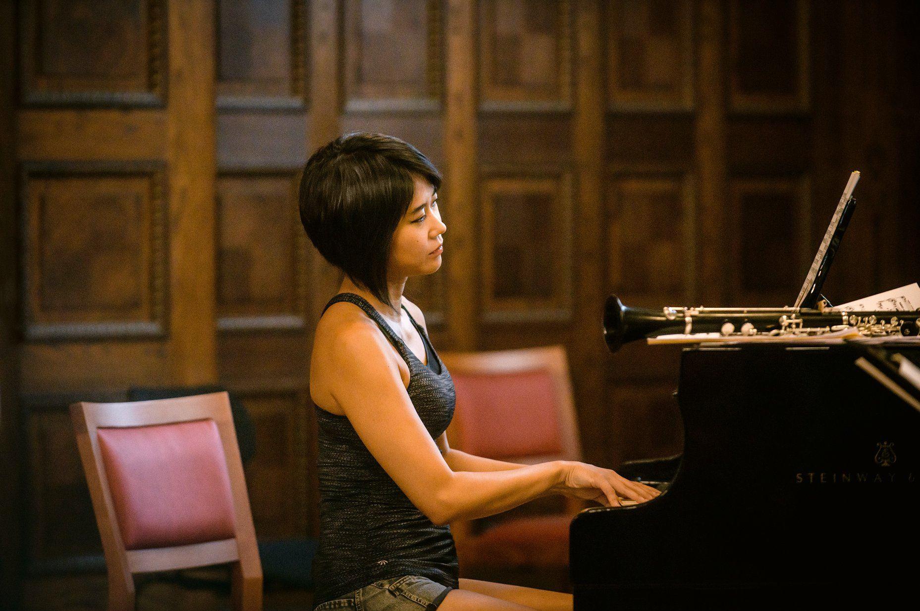 Yuja Wang adopts an English composer
