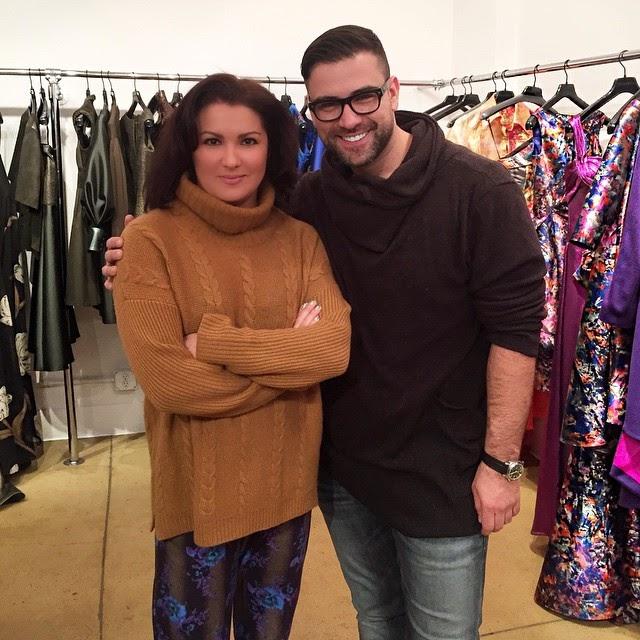 Meet Anna Netrebko's dress designer