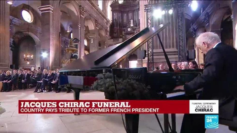 Watch: Barenboim plays Schubert at Jacques Chirac's funeral