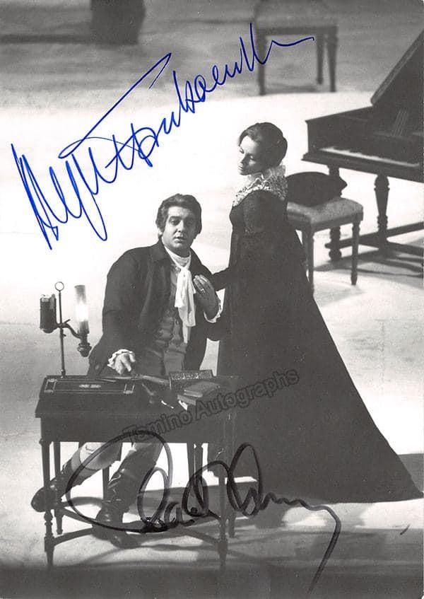 Brigitte Fassbänder: Placido Domingo came after me