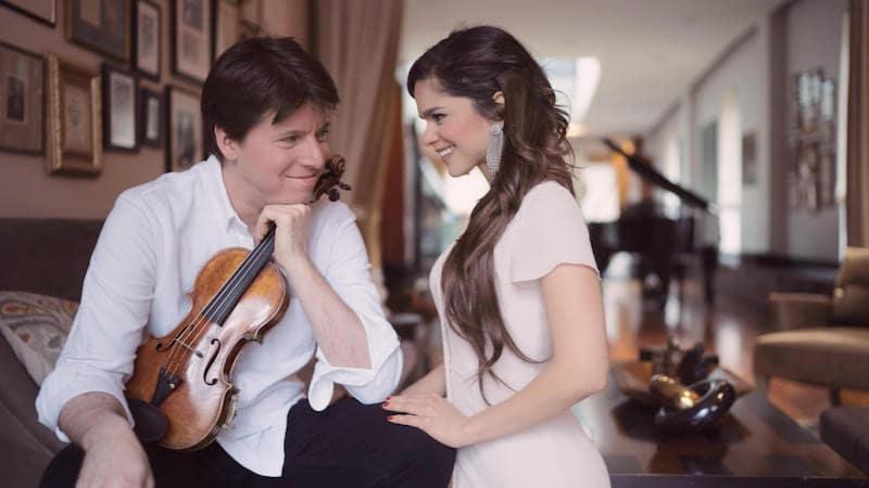 Weekend weddings: Joshua Bell got married