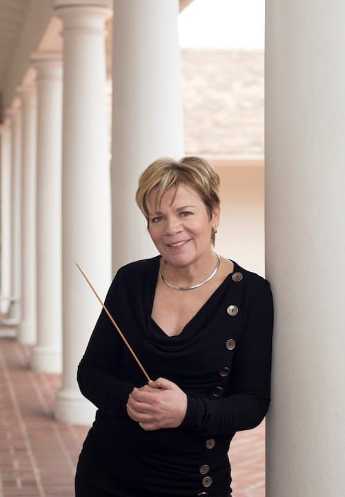 Marin Alsop to conduct world leaders