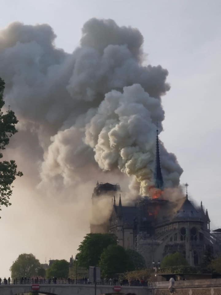Capucon raises 100 grand for Notre Dame