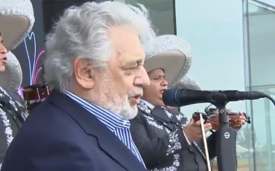 Placido Domingo goes back into denial