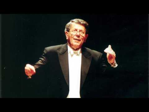 A fine conductor has died, at 92