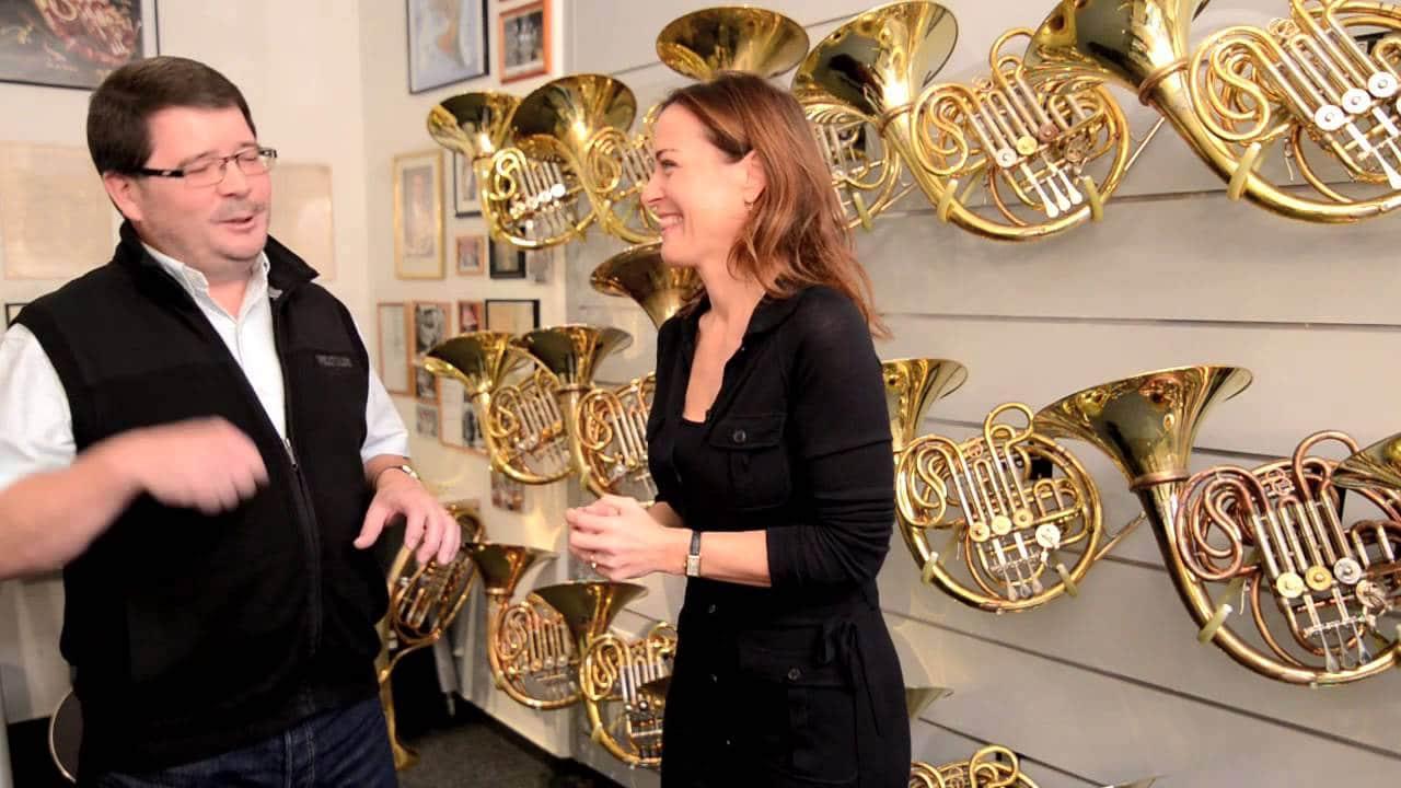 Can anyone handle a Wagner tuba?