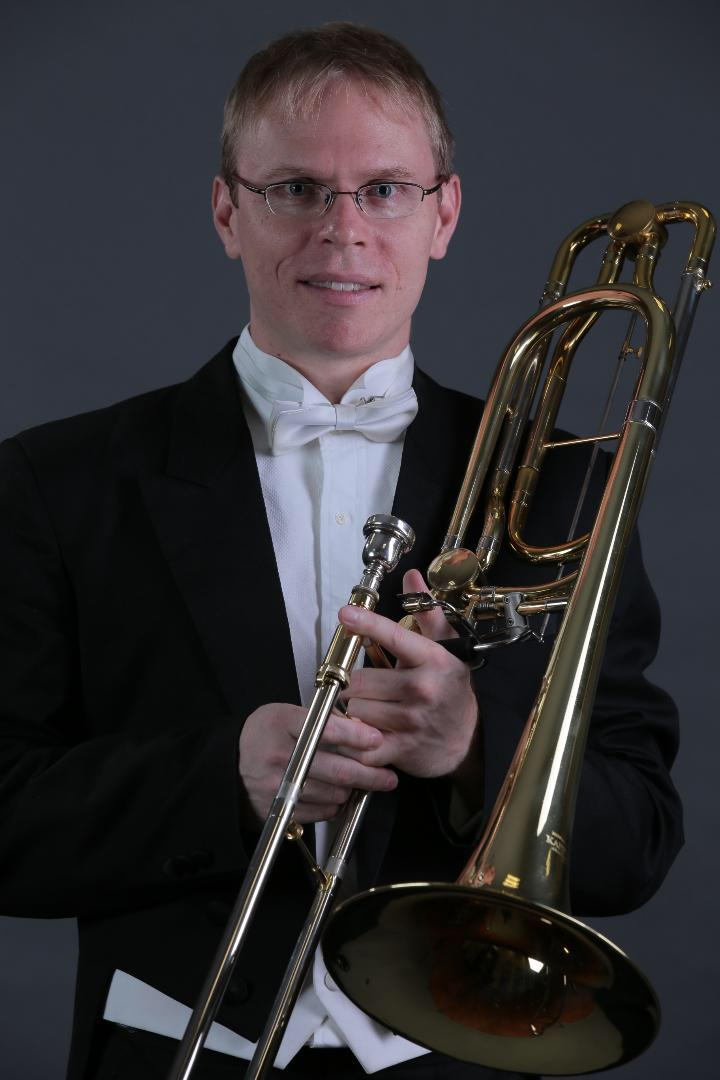 The world's trombonists hold brain-tumour blowout