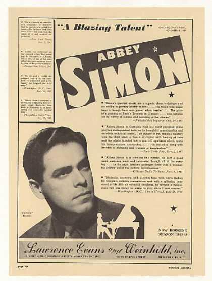 A secret Abbey Simon recording