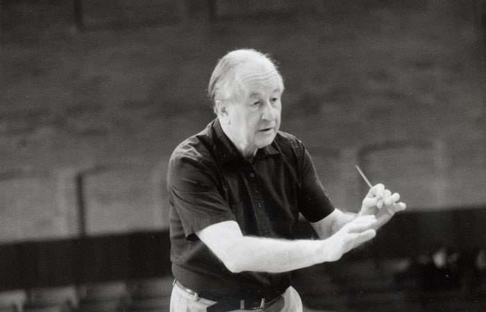 Death of a UK conductor, 90