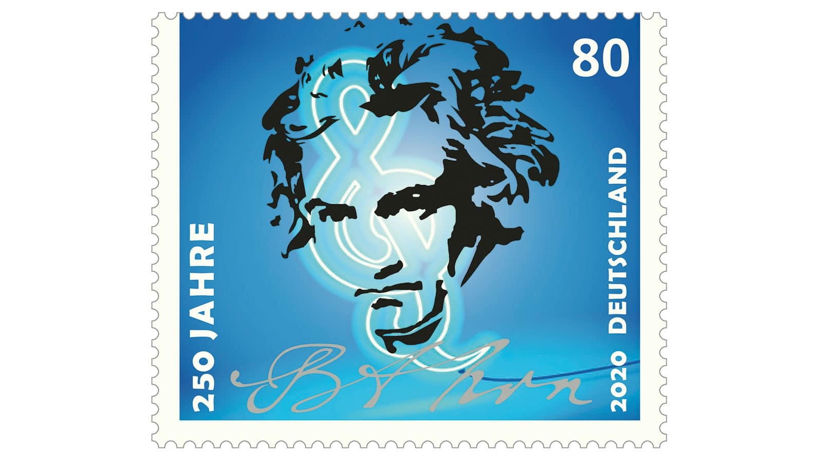 Stamp on Beethoven