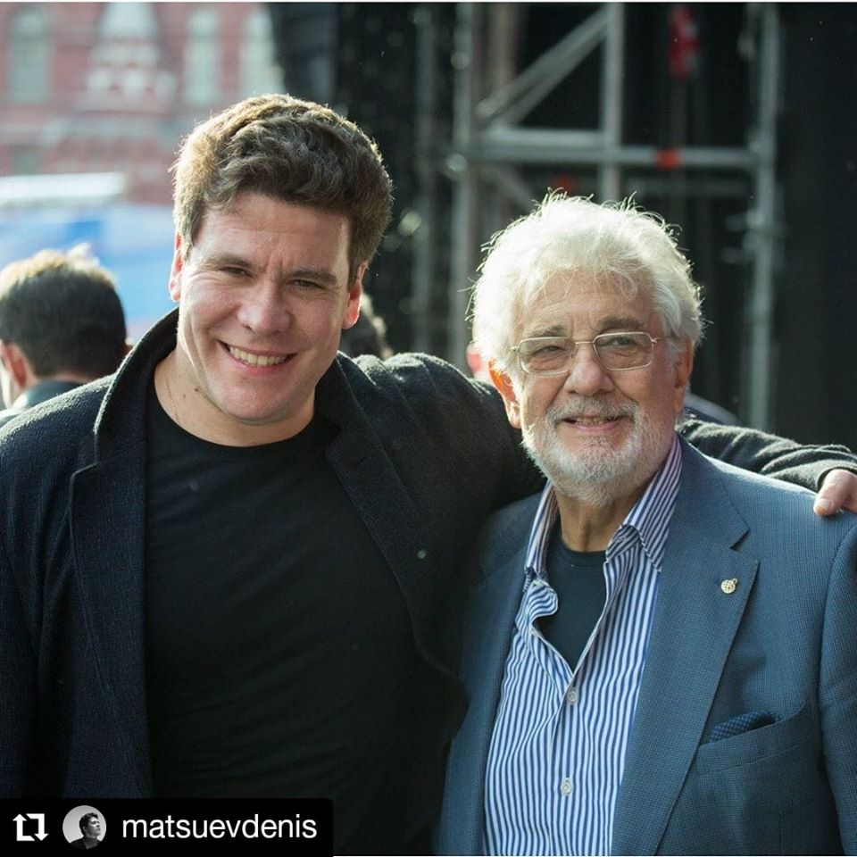 Placido Domingo is learning a new role