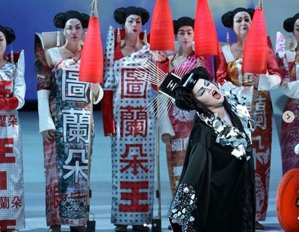 The last Chinese on the opera stage