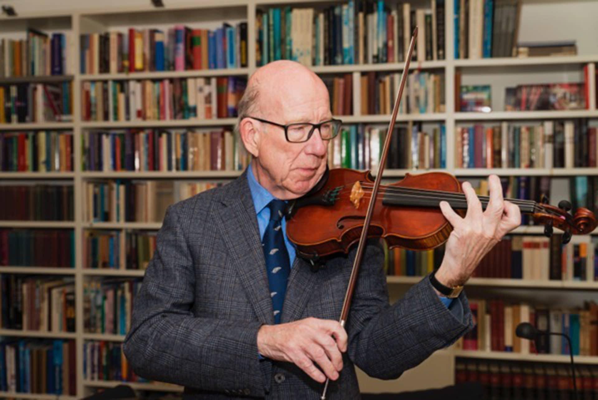 Dutch concertmaster dies, 78