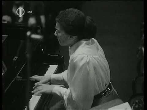 Martha Argerich's favourite female pianist (rare footage)