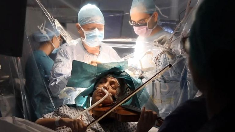 The surgeon got lost in Mahler. Thank God for the anaesthetist
