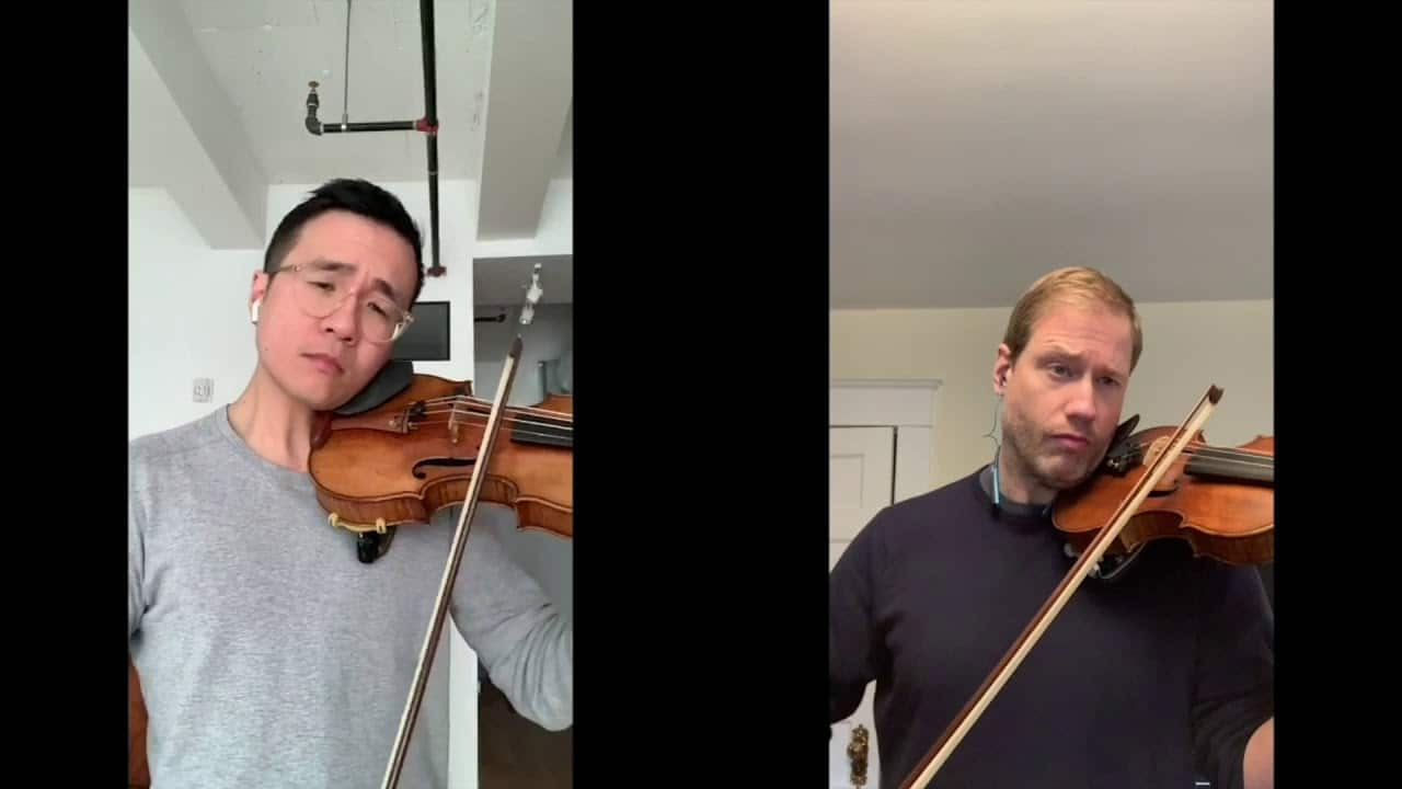 Two concertmasters take matters in hand