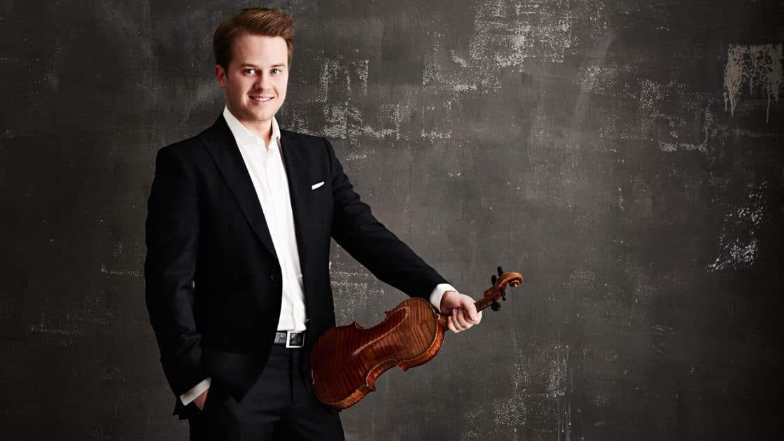 The next German violinist on the block