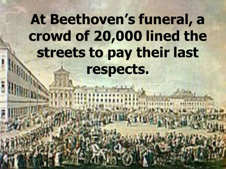 Glenn Gould's funeral march for Beethoven