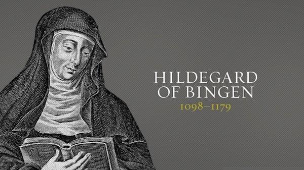 Hildegarde of Bingen saw the world go dark