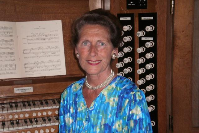 Death of an outstanding organist, 75