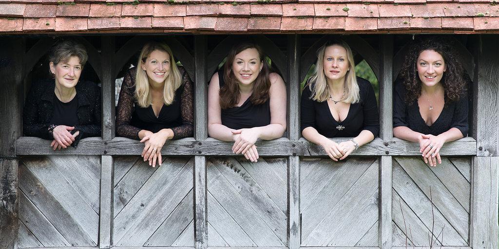 What can you do with 3 sopranos and 2 altos?