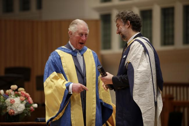 Prince Charles stokes London orchestra rivalry