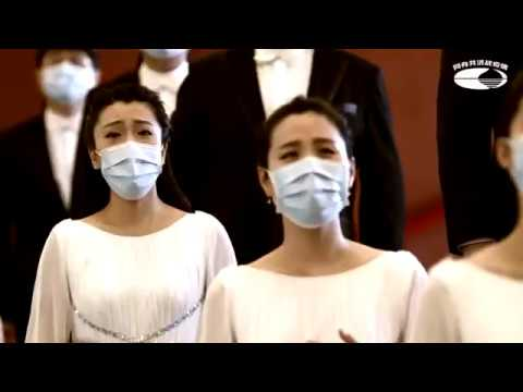 China's music chiefs compose choral tribute to medical staff