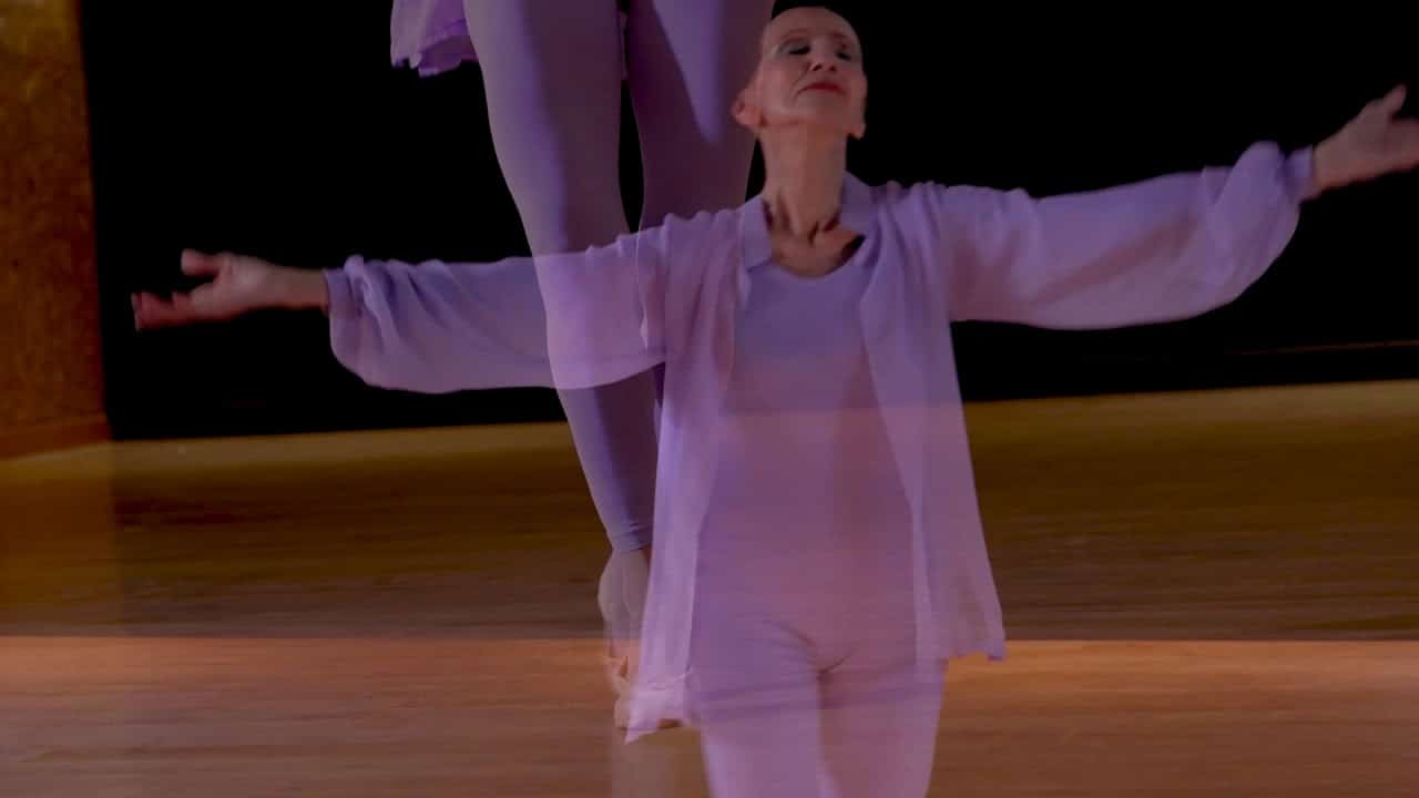 Watch: Ballerina dances solo on her 80th birthday