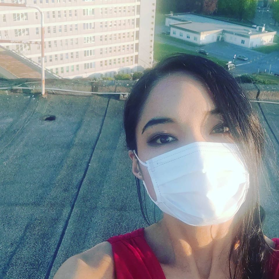 How a fiddler got onto an Italian hospital roof