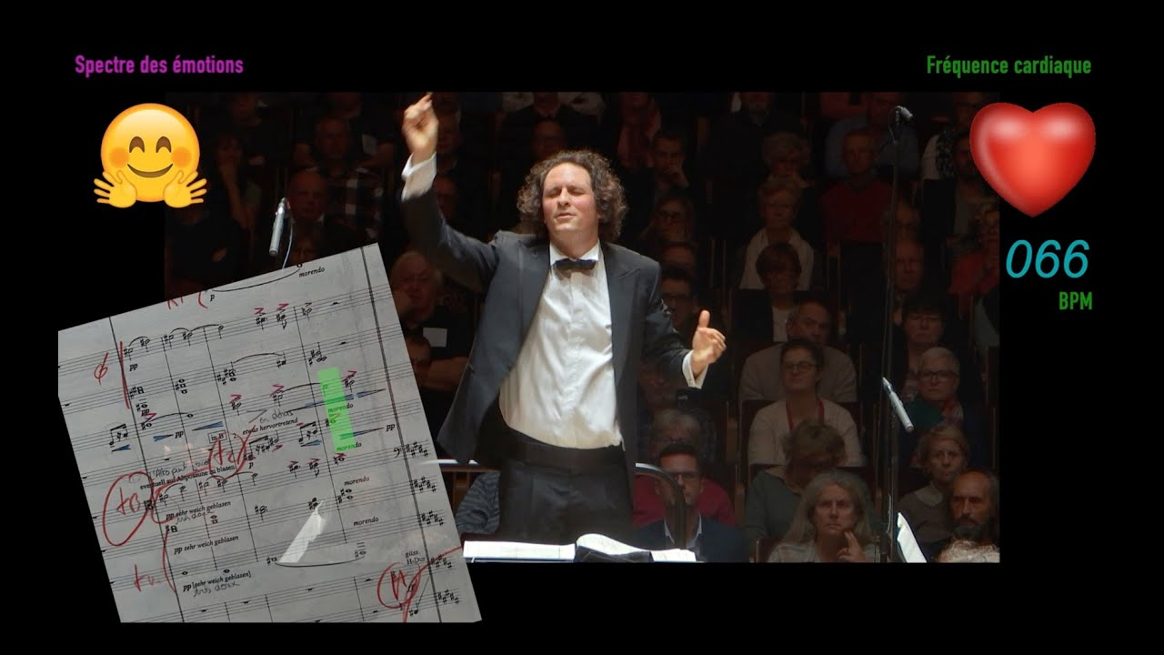 Must watch: What the maestro thinks as he conducts Mahler