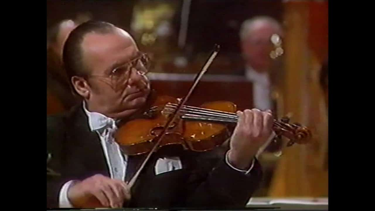 Death of an eminent violinist, 88