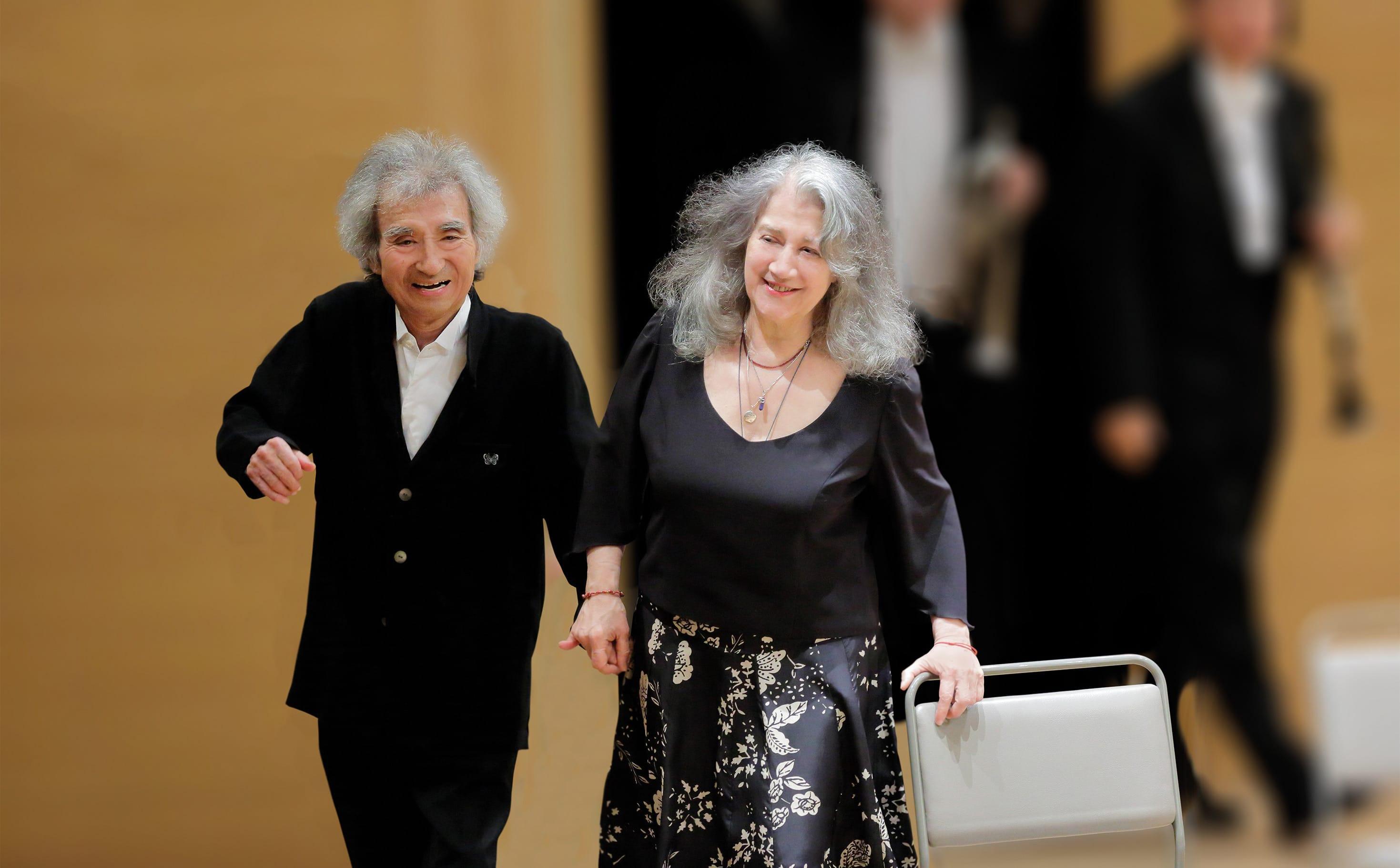 Martha Argerich: Brahms is for women who love older men