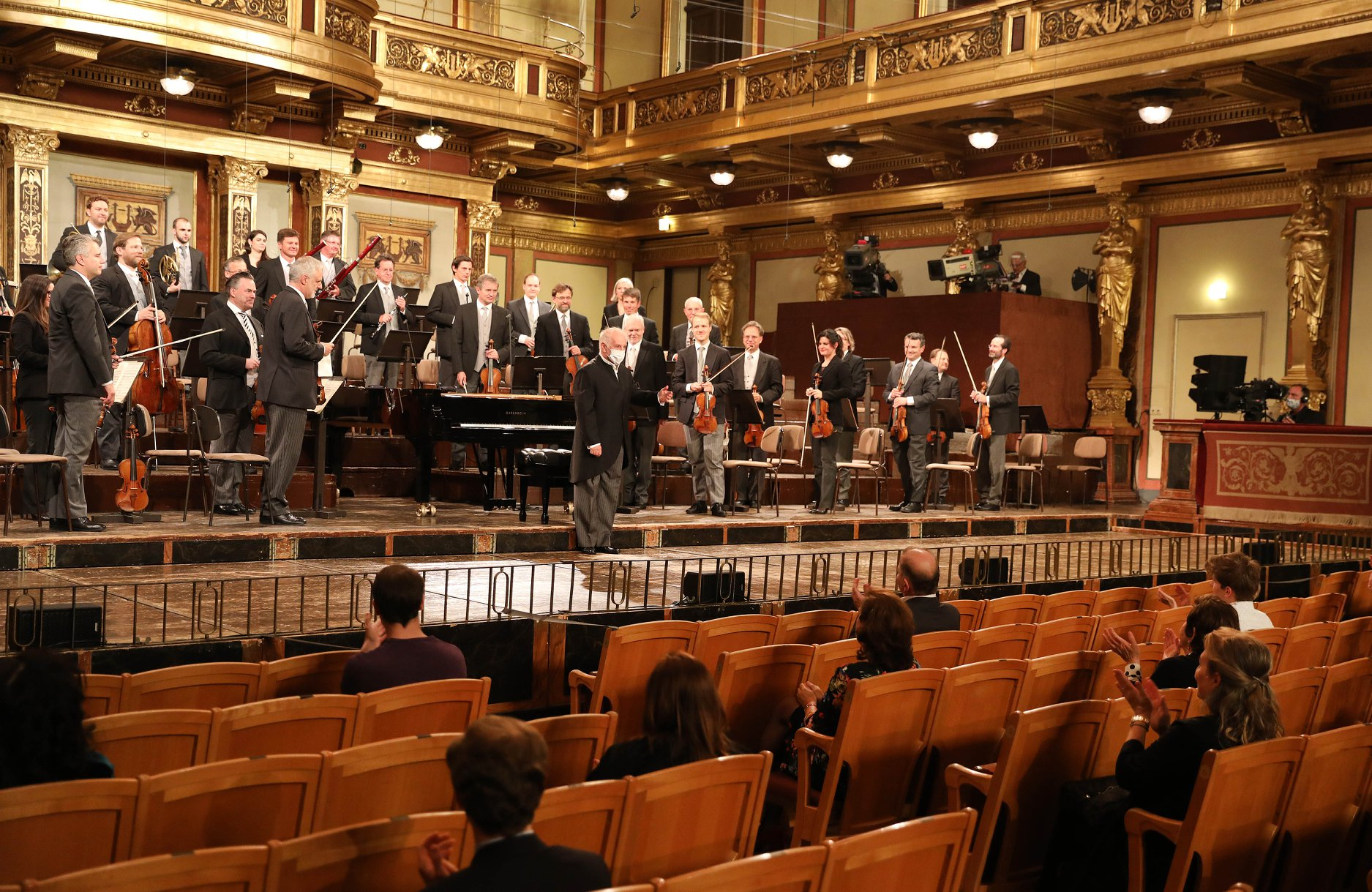 Anger as Vienna Philharmonic players jump the vaccination queue