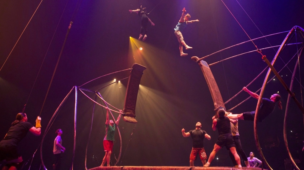 Cirque du Soleil declares bankruptcy