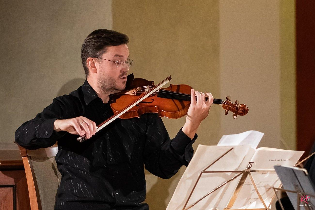New concertmaster at Czech Philharmonic