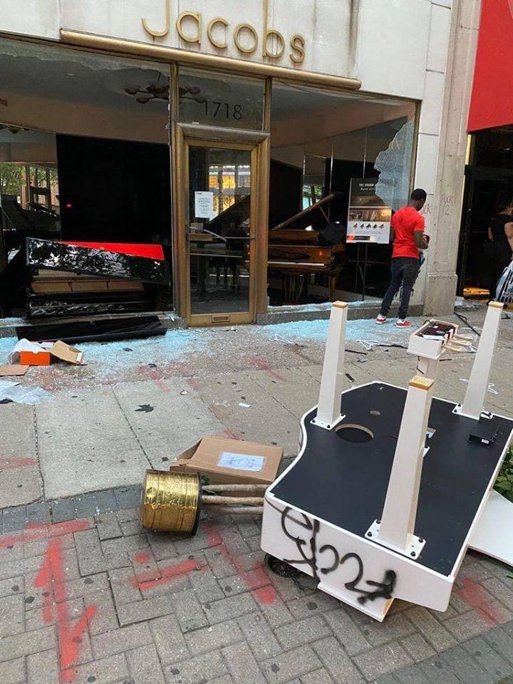 Yuja Wang on riots: Pianos can be rebuilt, humans not